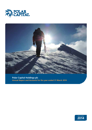 Polar Capital Holdings Plc annual report 2014