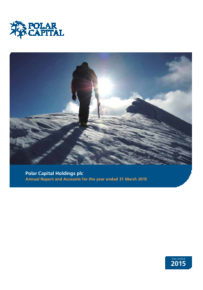 Polar Capital Holdings Plc annual report 2015