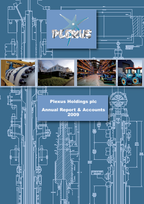 Plexus Holdings annual report 2009