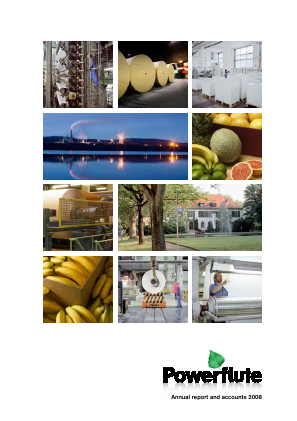 Powerflute OYJ annual report 2008