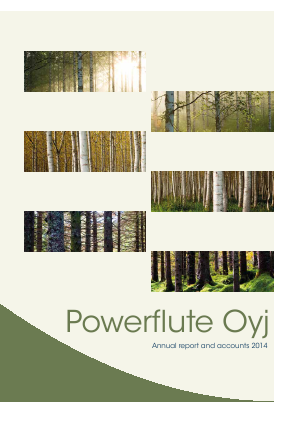 Powerflute OYJ annual report 2014