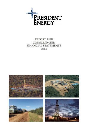 President Energy Plc annual report 2014