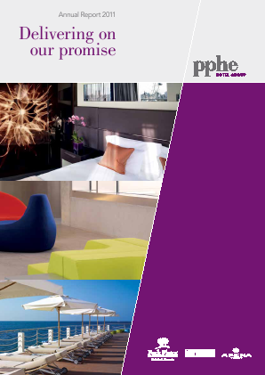 PPHE Hotel Group annual report 2011