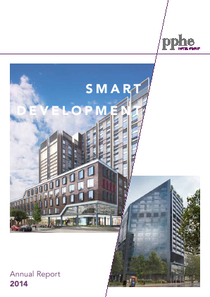 PPHE Hotel Group annual report 2014