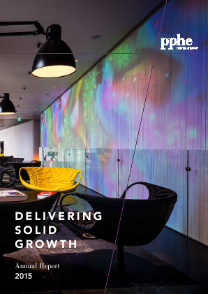 PPHE Hotel Group Ltd annual report 2015