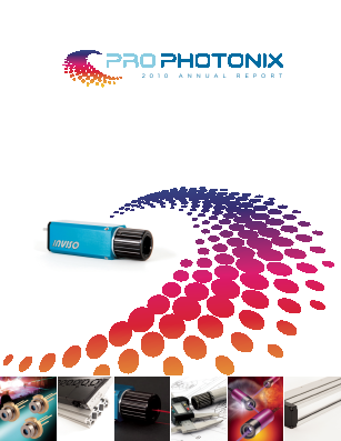Prophotonix annual report 2010