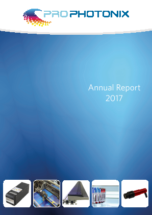 Prophotonix annual report 2017