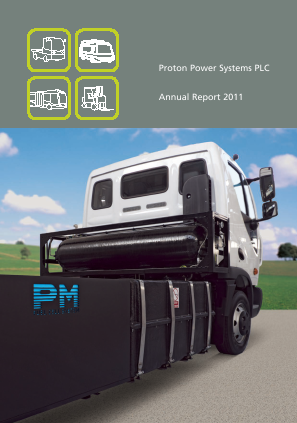Proton Power Systems Plc annual report 2011