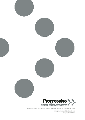 GlobalData PLC (formally Progressive Digital Media Group) annual report 2014