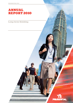 Prudential annual report 2010