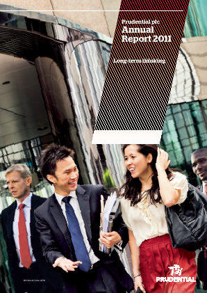Prudential Plc annual report 2011