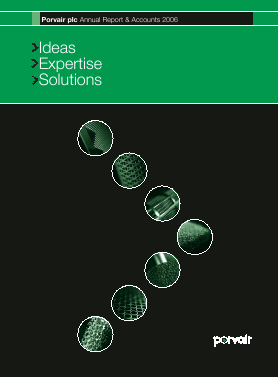 Porvair Plc annual report 2006