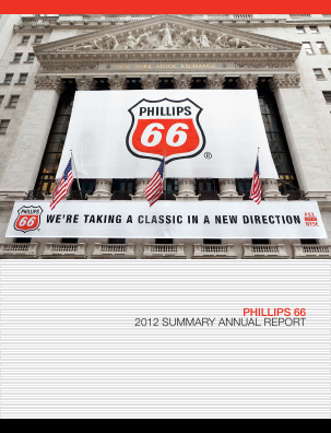 Phillips 66 annual report 2012