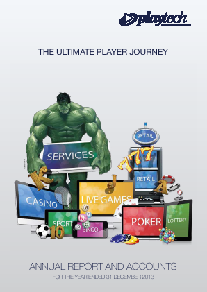 Playtech Plc annual report 2013
