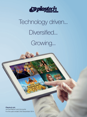 Playtech Plc annual report 2014