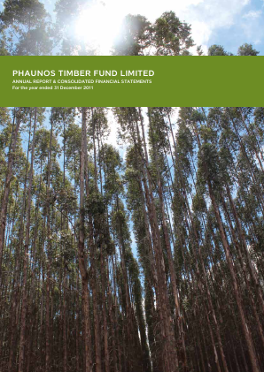 Phaunos Timber Fund annual report 2011