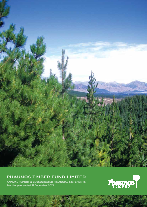 Phaunos Timber Fund annual report 2013