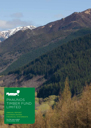 Phaunos Timber Fund annual report 2016