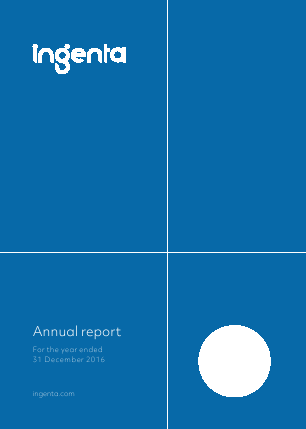 Ingenta plc (formally Publishing Technology Plc) annual report 2016