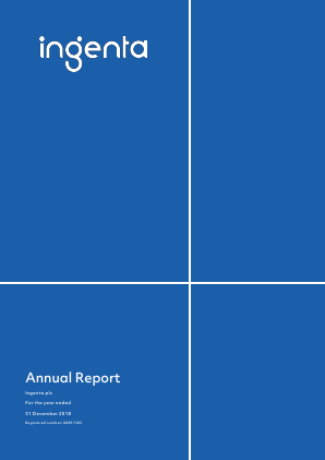 Ingenta plc (formally Publishing Technology Plc) annual report 2018
