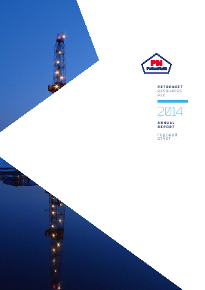Petroneft Resources annual report 2014