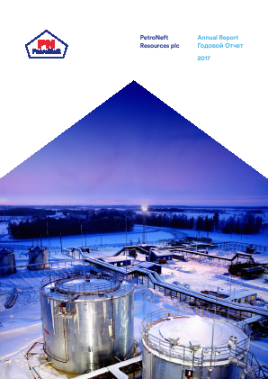 Petroneft Resources annual report 2017