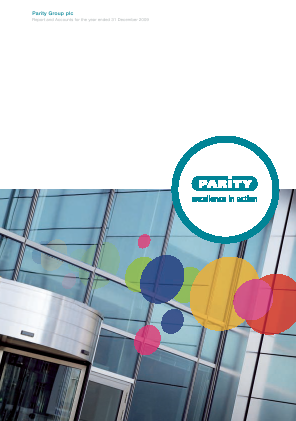 Parity Group annual report 2009