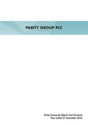 Parity Group annual report 2016