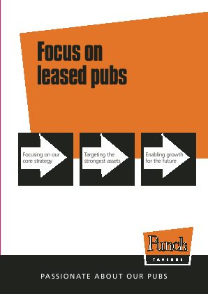 Punch Taverns annual report 2011