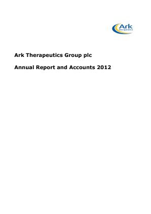 Premier Veterinary Group Plc annual report 2012