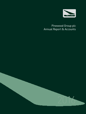 Pinewood Grp Plc annual report 2016