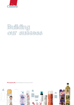 PZ Cussons annual report 2011