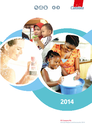 PZ Cussons annual report 2014