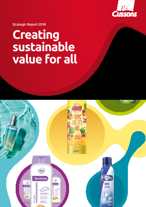 PZ Cussons annual report 2018