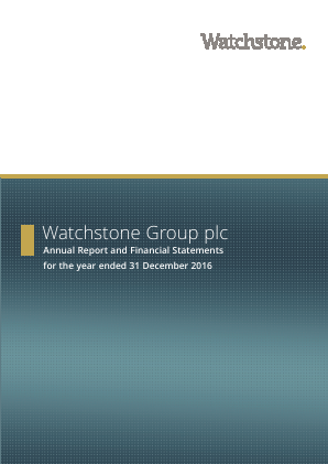 Watchstone Group (previously Quindell) annual report 2016