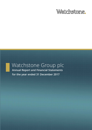 Watchstone Group (previously Quindell) annual report 2017