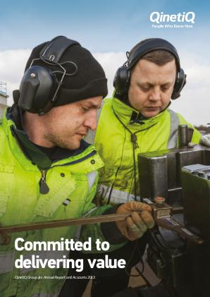 Qinetiq Group annual report 2013
