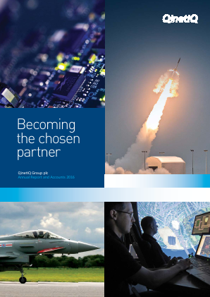 Qinetiq Group annual report 2016