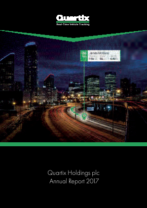 Quartix Holdings Plc annual report 2017