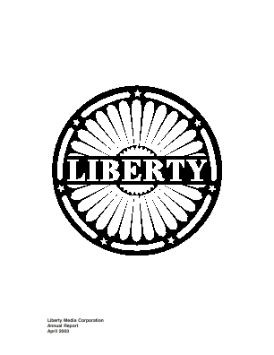 Liberty Interactive Corporation annual report 2002