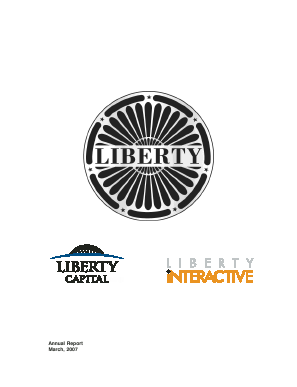 Liberty Interactive Corporation annual report 2006
