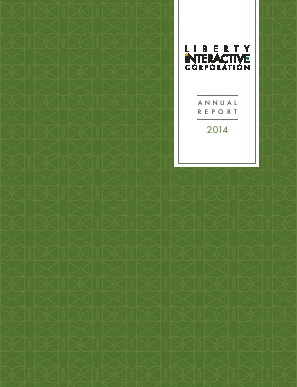Liberty Interactive Corporation annual report 2014