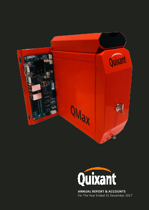 Quixant Plc annual report 2017