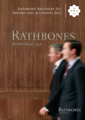 Rathbone Brothers annual report 2012