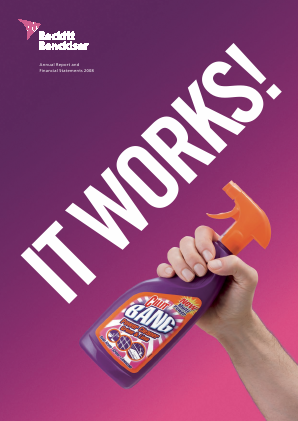 Reckitt Benckiser Group Plc annual report 2008
