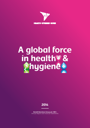 Reckitt Benckiser Group Plc annual report 2014