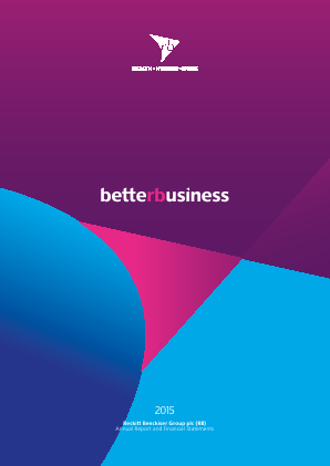 Reckitt Benckiser Group Plc annual report 2015