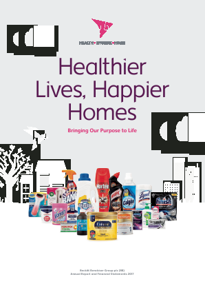Reckitt Benckiser Group Plc annual report 2017