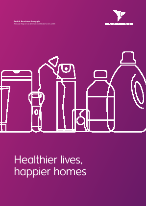 Reckitt Benckiser Group Plc annual report 2018
