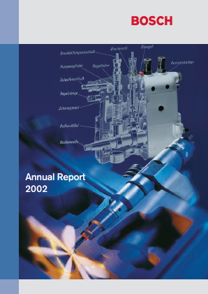 Robert Bosch annual report 2002
